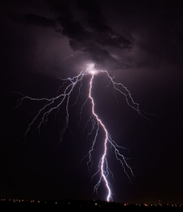 Results image of lighting from storm