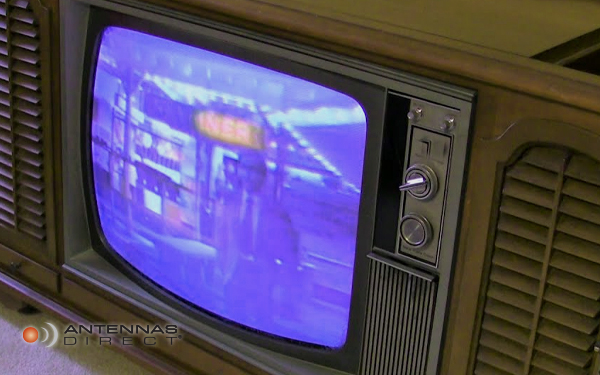 Results image of old box tv with dials