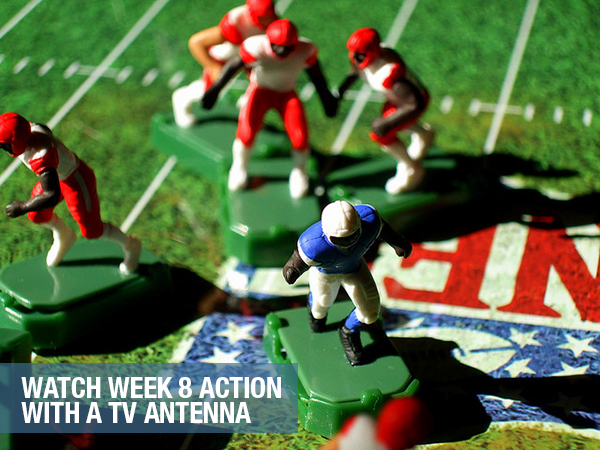 NFL Antennas Direct 8
