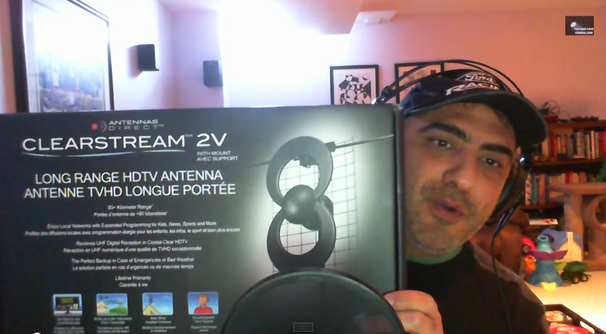 Results image of John Zanetta of Man Cave with Clearstream 2V