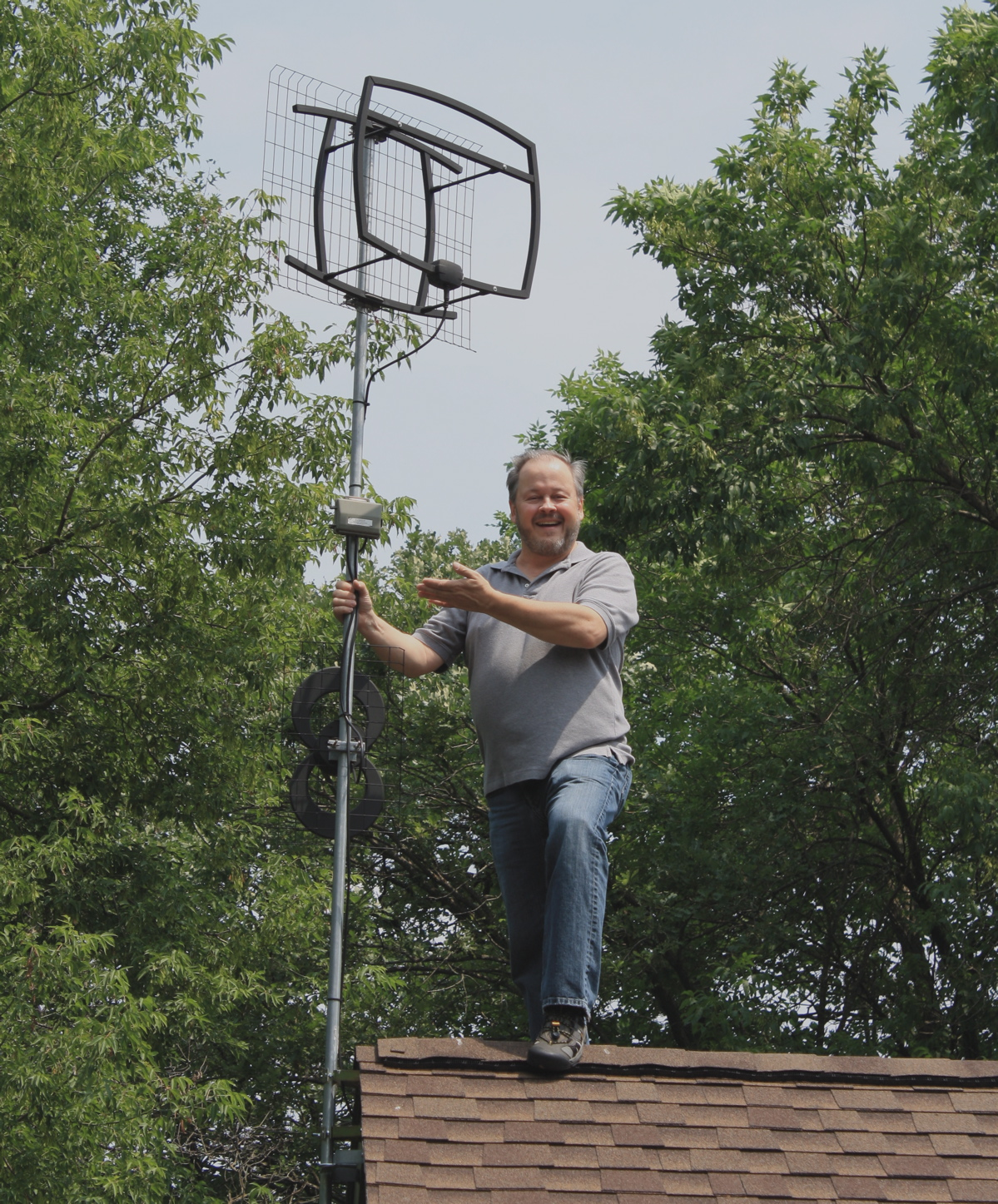 "Tom Koziol – A ""free broadcast TV"" viewer and Antennas Direct Ambassador"