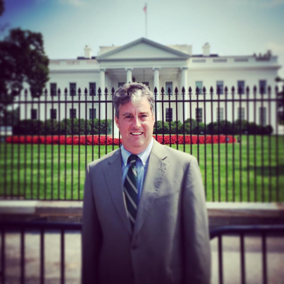 Results image of AD President Richard Schneider at White House