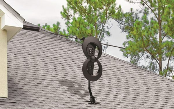 Results image of C2 antenna on top of house