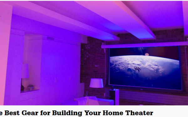 Results image of in-home theater