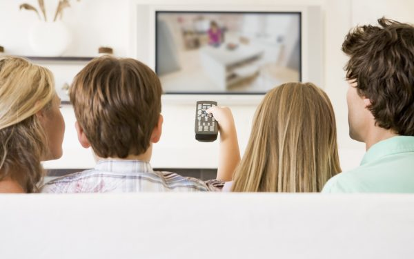Results image of group watching TV