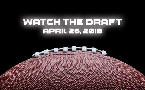 Results image of watch the draft with football