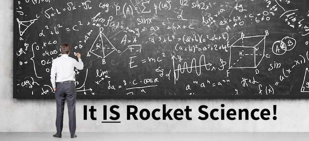 When it comes to antennas, it IS rocket science! |