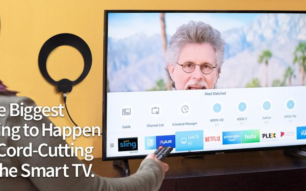 Results image of Smart TV with ECLIPSE antenna
