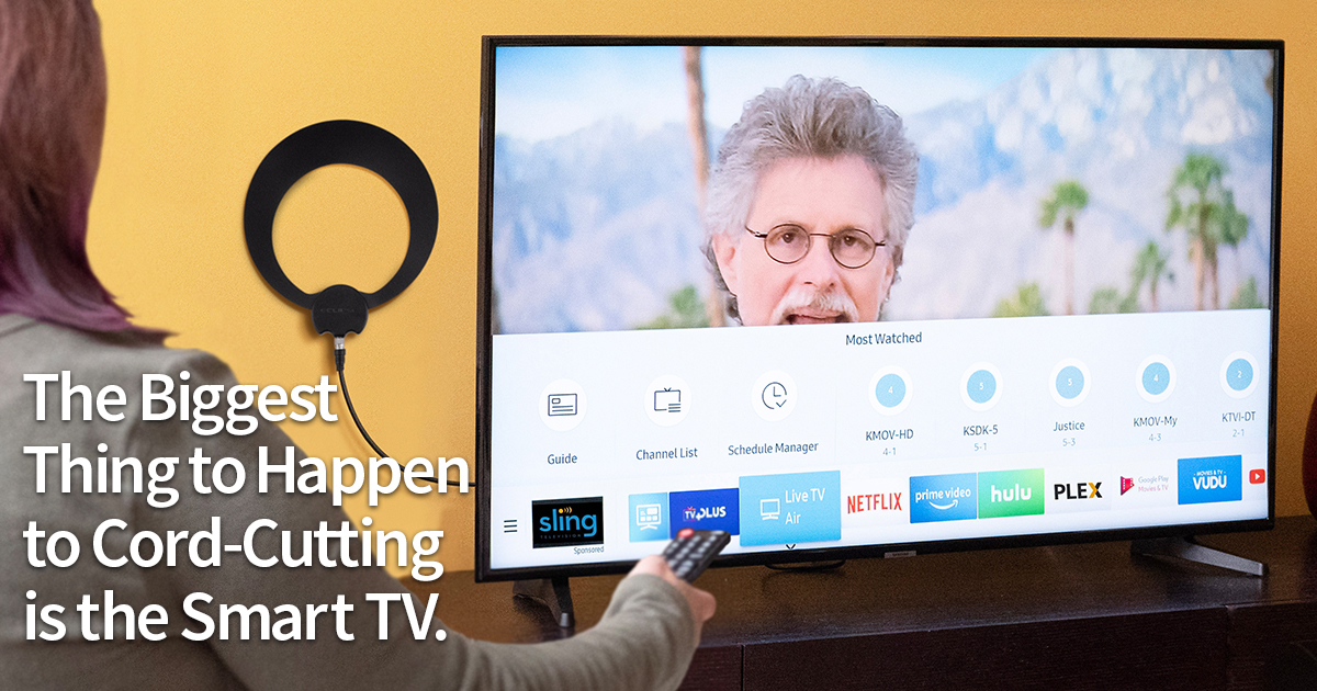 """The Biggest Thing to Happen to Cord Cutting is the """"Smart TV"""" 