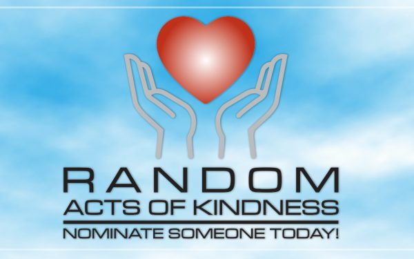 Results image of hands with hearts Random Acts of Kindness