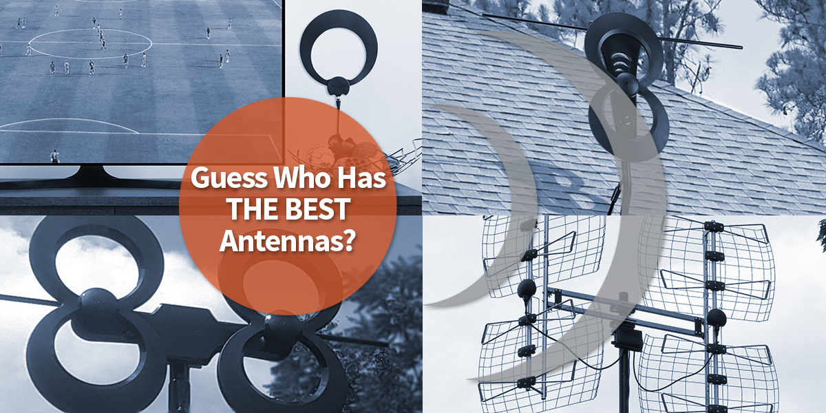 Results image of the best Antennas from Antennas Direct collage