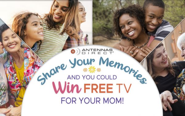 Results image of Win a Free TV Mothers Day promo