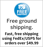 Free ground shipping.