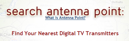 Search Antenna Point