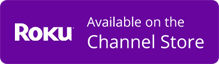 Roku: Available on the Channel Store