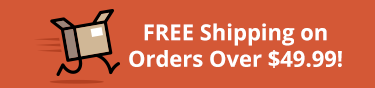 Free shipping on orders over $49!